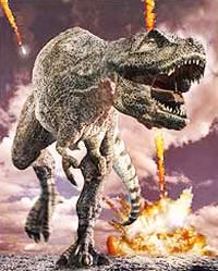 бегущий динозавр