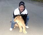 Коля и львенок